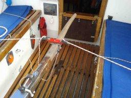 Ein neues Seglerleben beginnt für mich: Windfahne die erste