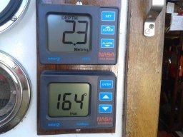 I am happy: Kompass und Echolog funktionieren wieder