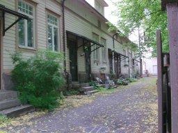 Fusswanderung in die turbulente Stadt Turku