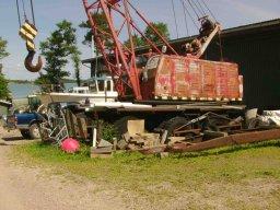 Tolle Motorenwerkstatt in Noorby auf der Schäre Iniö