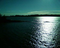 Wanderung in die Vergangenheit Finnlands und in die Natur