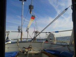 the same procedure as last year: Katastrophe in der Hafenausfahrt von Ruhnu