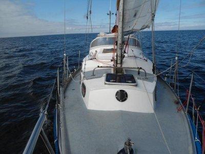 Abbruch - aber mit wunderschönen segeln