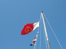 Endlich wieder blauer Himmel - gerade rechtzeitig zum Nationalfeiertag