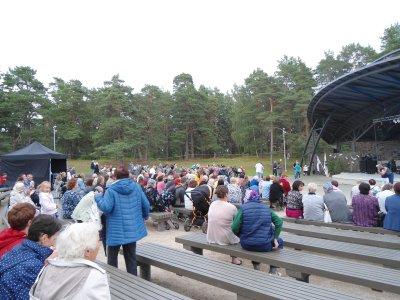 Segel-Regatta und DorfKulturFest auf dem Open-Air-PLatz