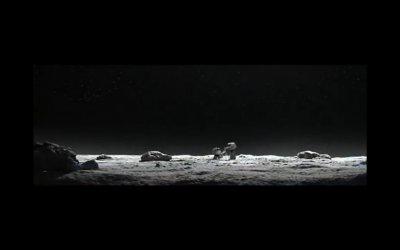Ich bin wieder auf dem Mond