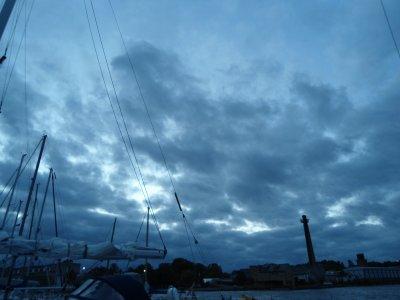 Diesmal kam es dicke - Sturm über West-Lettland