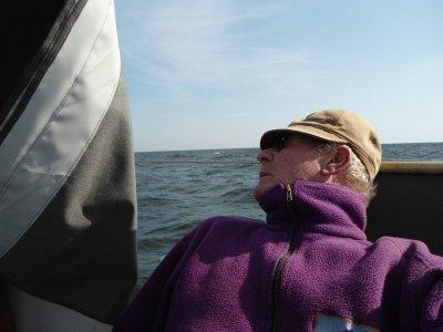 Wunderschönes Ende der Segelsaison - von Engure zurück nach Mersrags